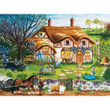 Cottage Garden 300 Large Piece Jigsaw Puzzle