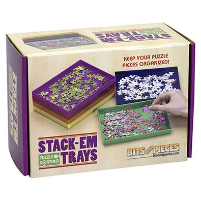 Stack-Em Puzzle Trays