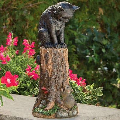 Cat And Mouse Sculpture