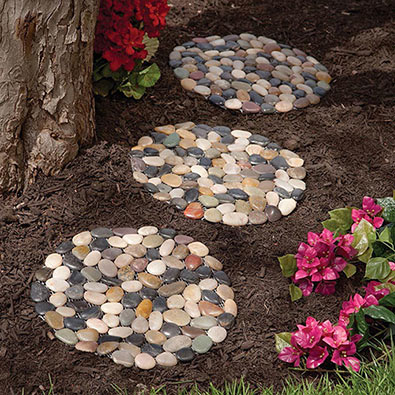 Home Amp Garden River Stone Stepping Stones