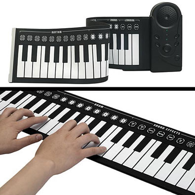 Roll-Up LED Electric Piano
