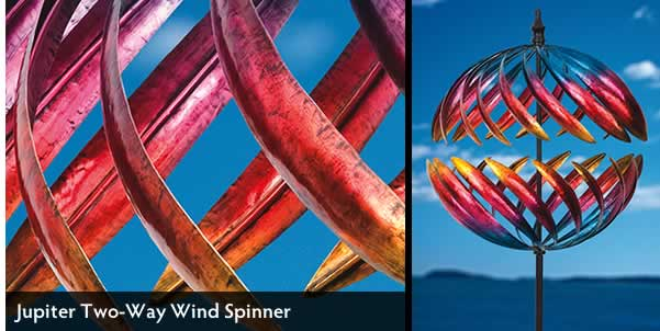 Jupiter Two-Way Wind Spinner