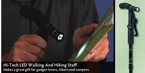 Hi-Tech LED Walking And Hiking Staff